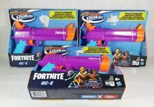 3 New Nerf Fortnite HC-E Super Soaker Water Blaster Water Guns Outdoor Toys Boys