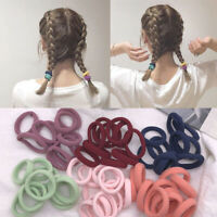 50pcs Nylon Elastic Headband Girls Women Lady Kids Hairband Scrunchie Hair Ring