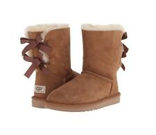 Women's Bailey Bow II Ugg Boot Chestnut NWB MSRP 205 USD
