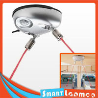 Dual Laser Line Garage Parking Assist Sensor Aid Guide Stop Light System For Car
