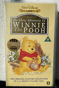 Winnie The Pooh - The Many Adventures Of Winnie The Pooh (VHS/SH, 1997)