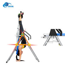 Sport Inversion Body Fitness Table Therapy Stretch Back Support Trainer Machine