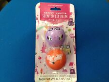 Simplepleasures Cherry vanilla Scented Lip Balm Owl and Fox