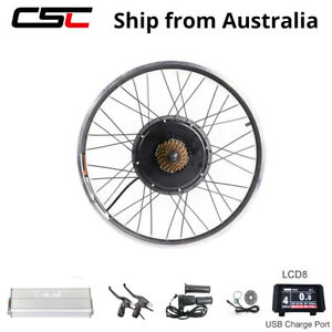 In Australia Stock Ebike 48V 1500W E Bike Conversion Kit Rear Wheel 27.5 29inch