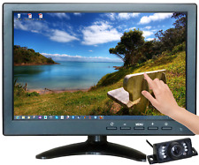 "10.1"" Multimedia Player Touch Screen HDMI AV BNC VGA TFT LED Monitor Camera US"