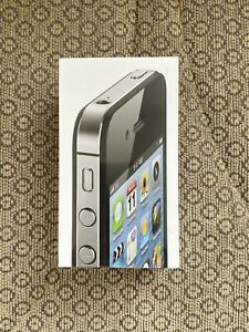 Brand New - iPhone 4S Black 16GB - Factory Sealed - Collector Piece