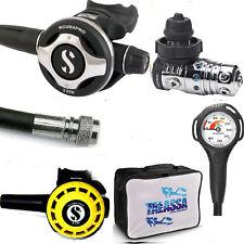 RO1 13 Scubapro Erogatore MK25 Evo S600  DIN300  + octopus R195  kit completo