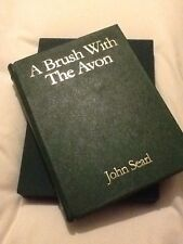 Signed John Searl Leatherbound A Brush With The Avon 48/100 Unread Fishing Book