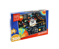 Corner Piece 300 Jigsaw Puzzle Our Universe 60 x 45cm Fun Facts Informative NEW