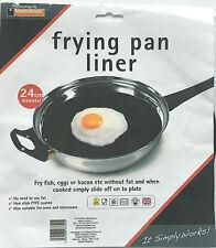 Padella RIVESTIMENTO -- 24cm diametro-Fry uova pesce bacon senza grassi
