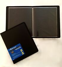 Itoya Evolution Portfolio book bound album, photos up to 9x12, black