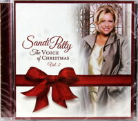 Sandi Patty The Voice of Christmas Vol. 2 NEW CD Contemporary Christian Holiday