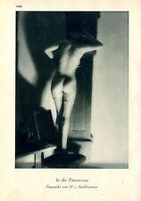 In der Dämmerung Frauenakt von H.v.Perckhammer  c.1930