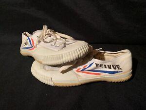Feivue Shoes Kung fu Tai chi Taekwondo Wushu size  6 Us white Tiger Claw