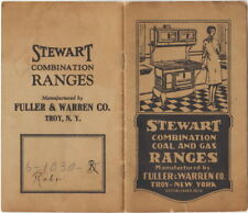 Stewart Combination Coal And Gas Ranges, Fuller Warren Co., Troy, NY Catalog