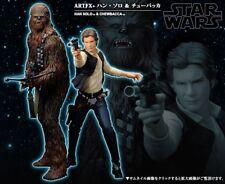 KOTOBUKIYA Star Wars Han Solo & Chewbacca Collectible Statue