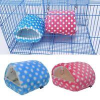 US Hamster Guinea Pig Squirrel Hedgehog Rabbit Nest Mice Pet Sleeping Bed House