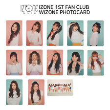 IZ*ONE IZONE 1st Fanclub WIZONE Official Photocard KPOP K-POP