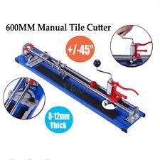 Heavy Duty 600MM Cortadora de Cerámica Manual Máquina Para Cortar Azulejos Azul