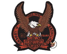 HARLEY DAVIDSON 90TH ANNIVERSARY EAGLE PATCH AUTHENTIC VEST JACKET PATCH 1993