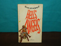 Sex and Savagery of Hell's Angels Paperback Original 1st ed 1966 by Jan HUDSON