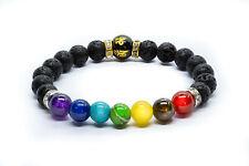 7 Chakra Bracelet. Anxiety Crystal Healing Beads Jewellery. Natural Reiki gift