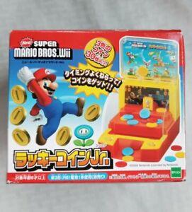 Epoch ~ Super Mario Bros Wii ~ Lucky Coin Jr. Coin Pusher Game Fun!! Japan