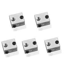 5x Block para J-Head e3d v6 Hot ends RepRap 3d-impresora hotend extrusora