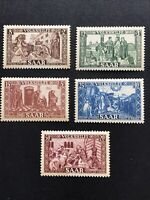 Saar 1950 National Relief Fund, Full Set MNH