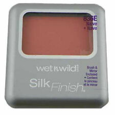 Wet n Wild Silk Finish Blush with Brush and Mirror - Choose Your Shade