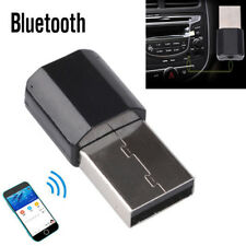 USB Wireless Bluetooth 3.5mm AUX Audio Stereo Music Receiver Adapter Home Car