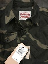 NWT Levi's Camouflage Quilted Trucker Jacket Size Small MSRP $140