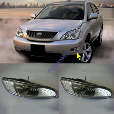 1 Pair Front Fog Lamp Cover For Lexus RX300 RX330 RX350 HARRIER 2003-2008 AA