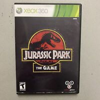 Jurassic Park: The Game Xbox 360 Complete CIB Tested Working Not Original Case