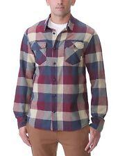 Vans Caja Para Hombre Tejido Franela Camisa pequeña RRP £ 59