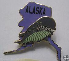 Disney State Character Pin Series Alaska  Monstro from Pinocchio Pin