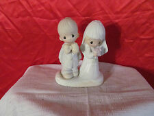 The Lord Bless You And Keep You Precious Moments Figurine Bride & Groom Wedding