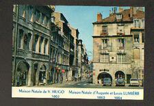 BESANCON (25) RENAULT R6 & PEUGEOT 204 , Maison Natale de Victor HUGO