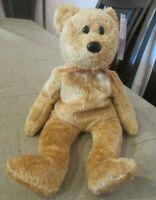 Ty Beanie Baby Cashew the Bear DOB April 22, 2000 MWMT Free Shipping