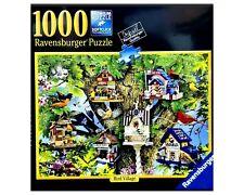 NEW Ravensburger 1000 Piece Puzzle - BIRD VILLAGE - 27 in x 20 in, NEW SEALED