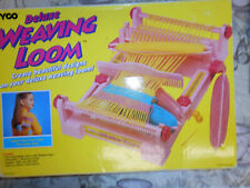 weaving loom vintage Tyco Deluxe childrens 1994 complete please see description