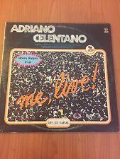 DLP ADRIANO CELENTANO ME LIVE 2  RB 249 VG/EX ITALY PS 1980 RAI