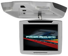 "NEW POWER ACOUSTIK PT-109CMGR FLIPDOWN CEILING-MOUNT MONITOR - 10.4"" DISPLAY"