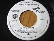 "FLEETWOOD MAC - LOVE IN STORE     7"" VINYL PROMO"