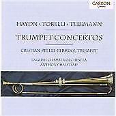 CARLTON CD Haydn, Torelli, Telemann: Trumpet Concertos (1997) STEELE-PERKINS NEW