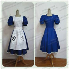 Alice Madness Returns Cosplay Costume Maid Uniform Fancy Dress