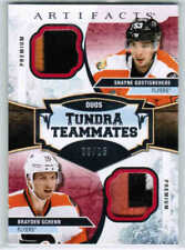17/18 UD ARTIFACTS GOSTISBEHERE SCHENN T2-PHI TUNDRA TEAMMATES DUOS PATCH /15