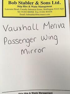 Vauxhall Meriva - Passenger Wing Mirror