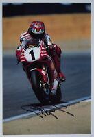 Carl Fogarty Signed 12x8 Photo Autograph Signature Superbikes Racing AFTAL COA