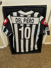 Juventus Alessandro Del piero Match WORN Soccer Jersey COA Serie A World Cup